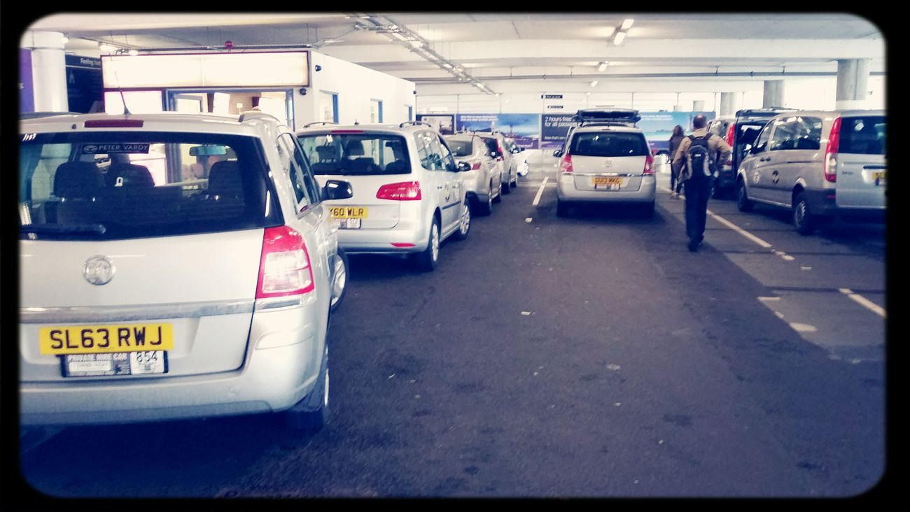 Airport taxi rank, private hire, the better choice. Airport First Eyeem Photo