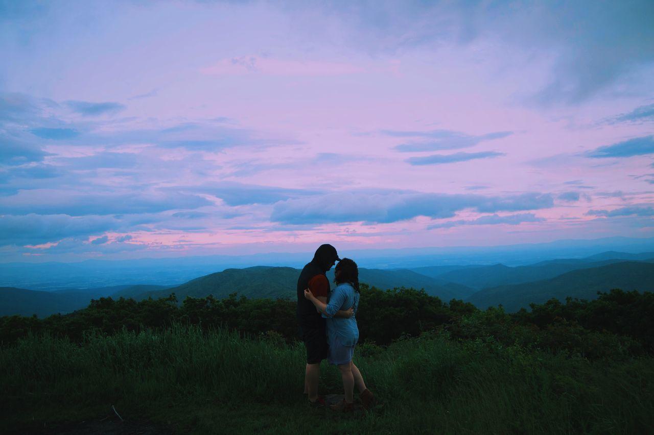Couple L Lifestyles Magical Mountains Reddish Knob Virginia Virginia Beach