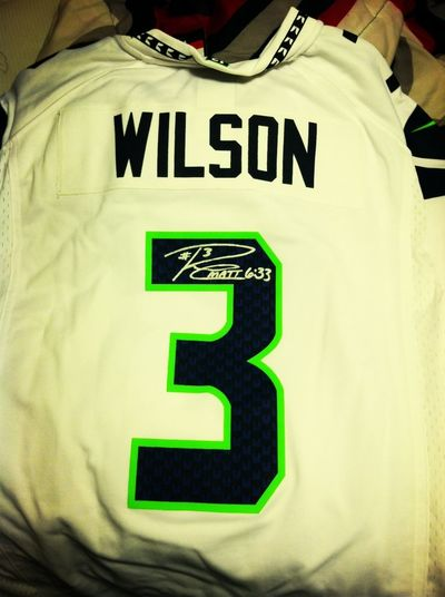 Official Signed Jersey By Rudsel Wilson