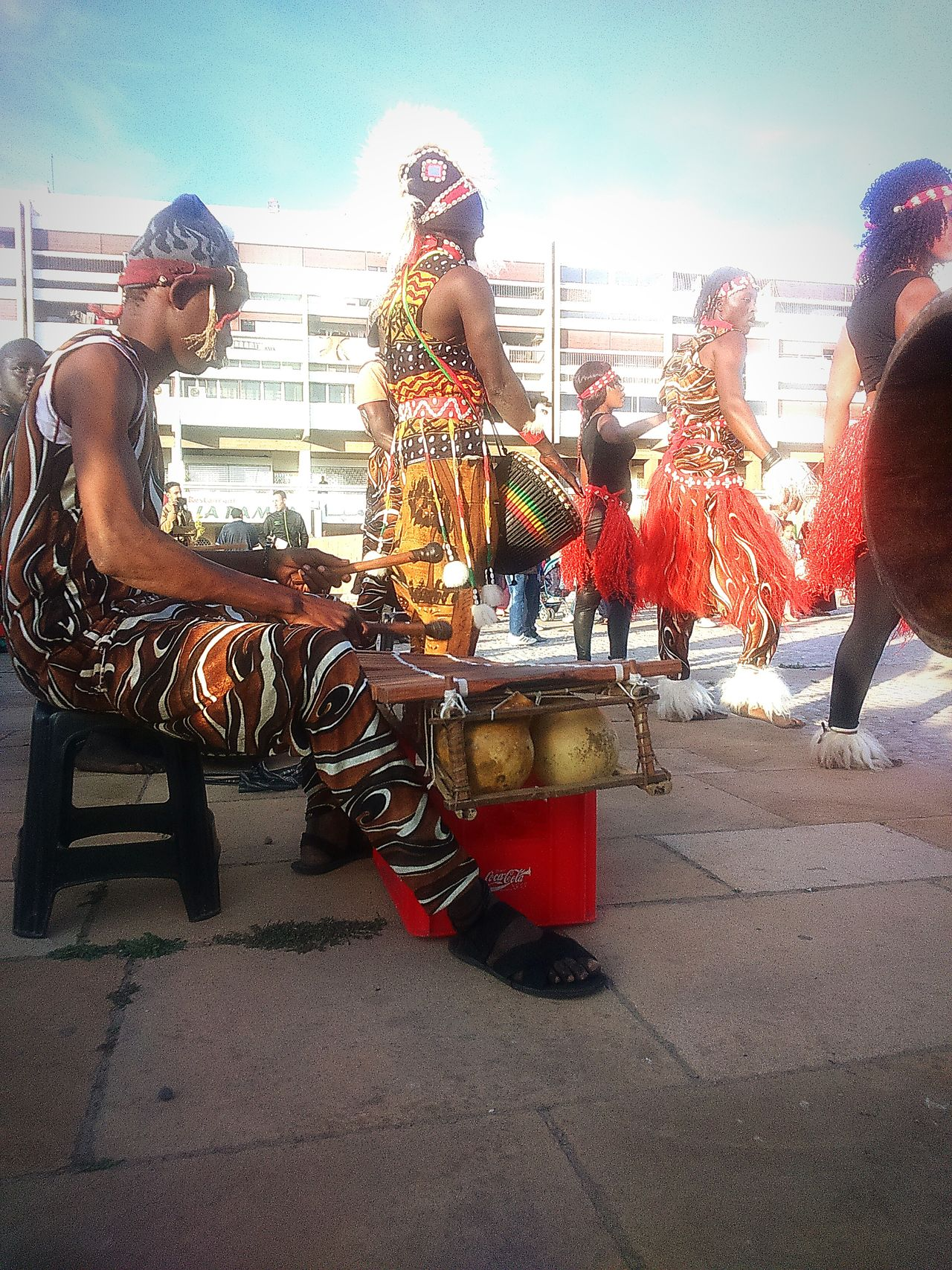 Africa Plaza Street Photography Morocco Gnawa MusicPercussionPercussion