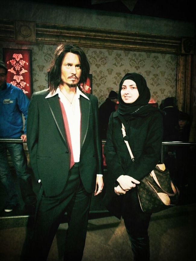 London .. Madame Tussaduds .. Jhony Dib