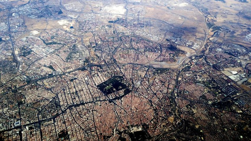 Madrid from the air City Aerial Shot Aerialphotography Madrid Urbanism Cityscapes Takeoff ✈