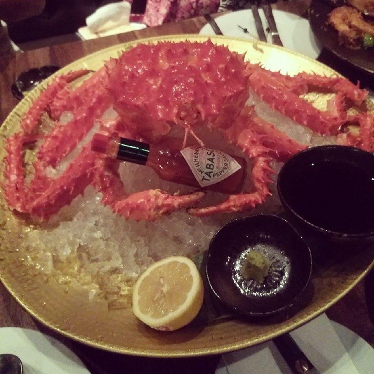 Hello dinner Alaskankingcrab Iamalexchan Kualalumpur Dinner blackmarketmalaysia