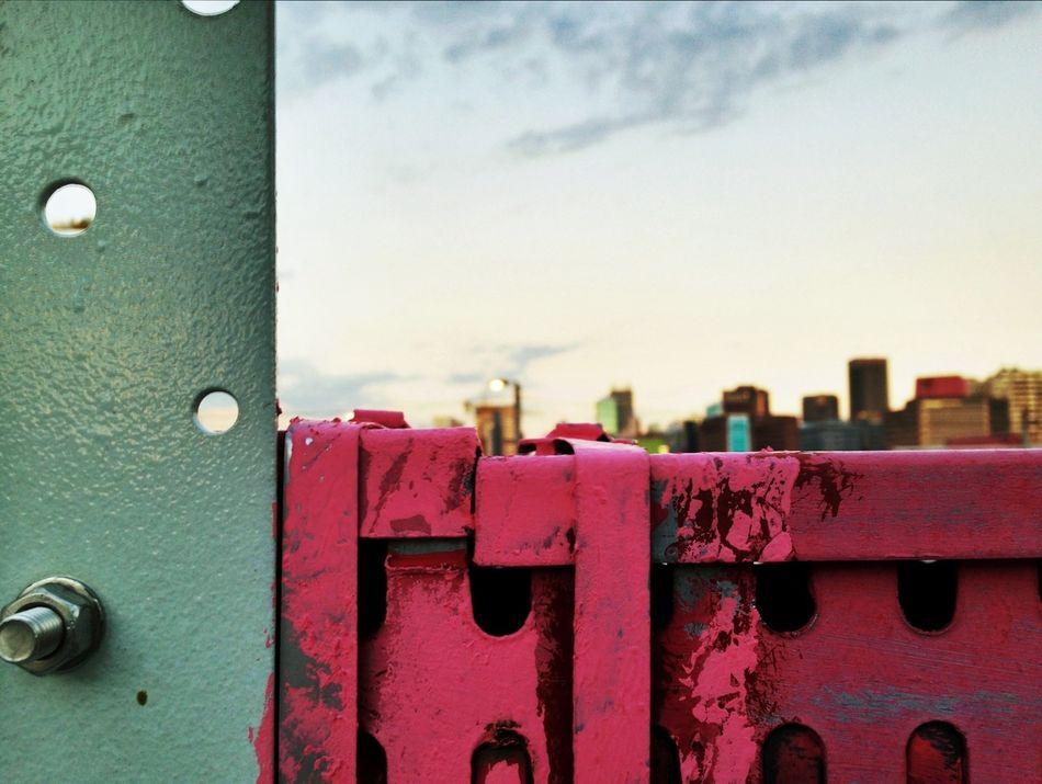 Skyline Depth Of Field Texture Johannesburg