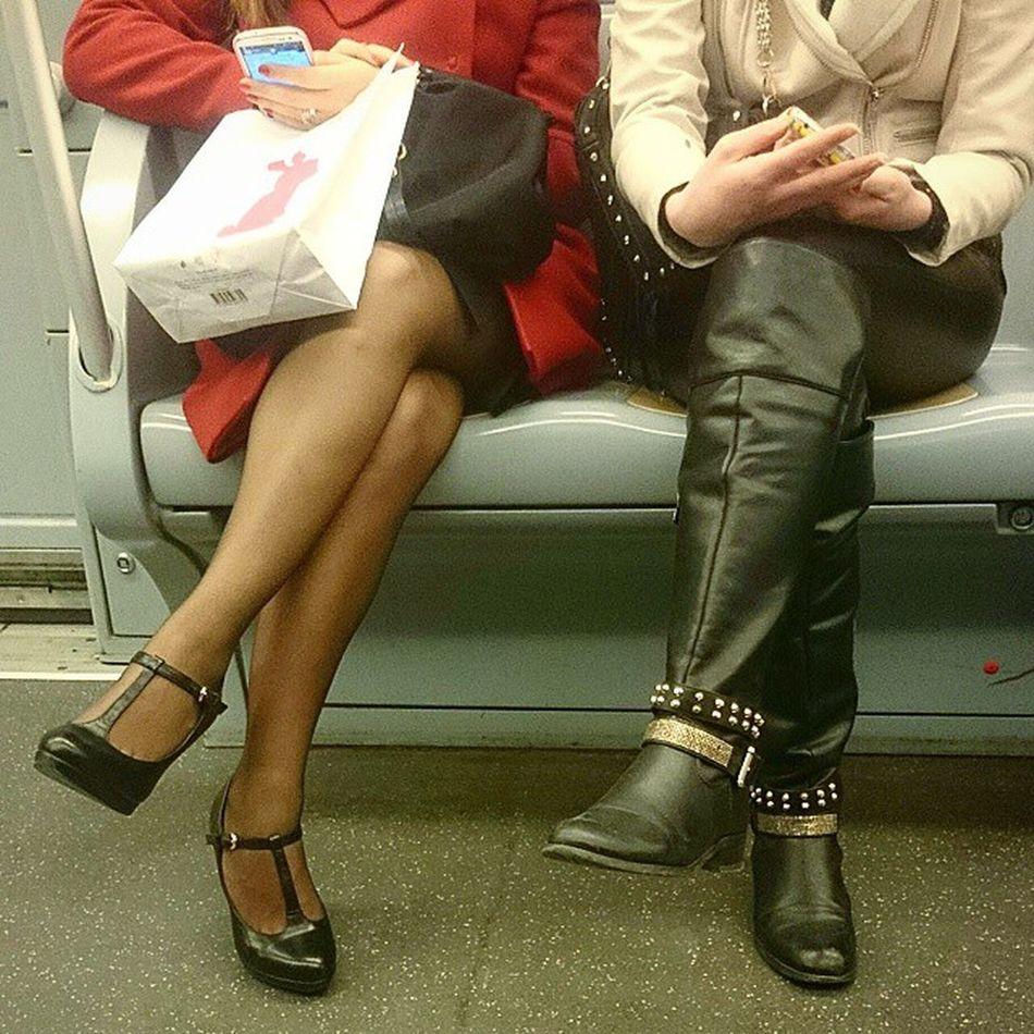 Nice Legs Samesamebutdifferent Milan Metro Women Fashionable