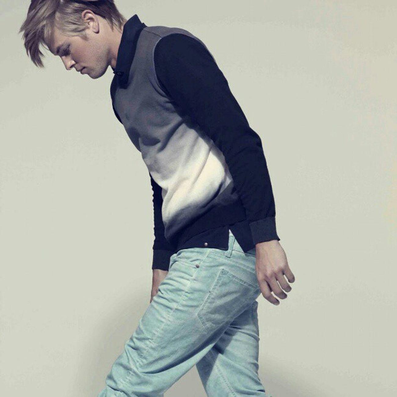 Dbrand Jeans Mode Fashion Blogg Sweden Stockholm Kungsholmen Knitted  d.brand Spring 2013 - Turquoise Denim!