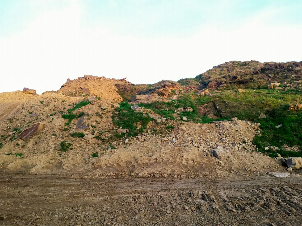 Desert Outdoors Rock - Object Landscape Nature No People Day Arid Climate Scenics Mountain Sky Sand Dune Beauty In Nature The Great Outdoors - 2017 EyeEm Awards Sunlight Quarry Sand Earth Site Work Stone Rock BYOPaper! Landscapes Beauty In Nature