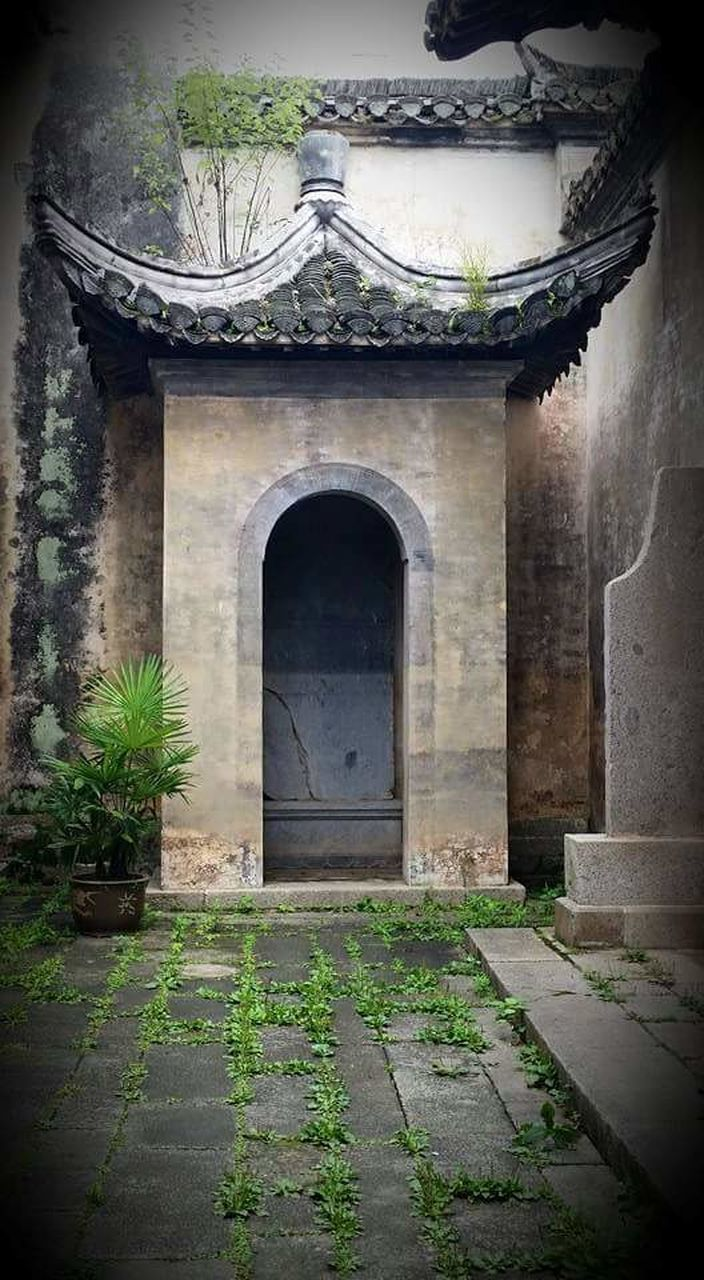 built structure, architecture, history, no people, building exterior, day, plant, doorway, outdoors