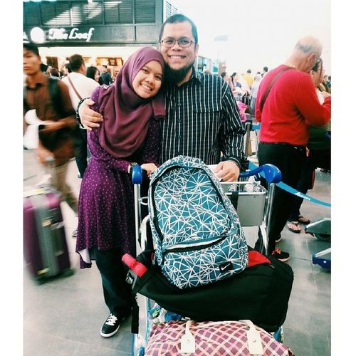 Happy birthday ayah!! Thank you for everythng.. If it were not bcause of u i am not the one who i am now. May u allah ease up everything that u do. Amin. U are a great dad i couldn't ask for me. Take care and i miss u. ?❤??