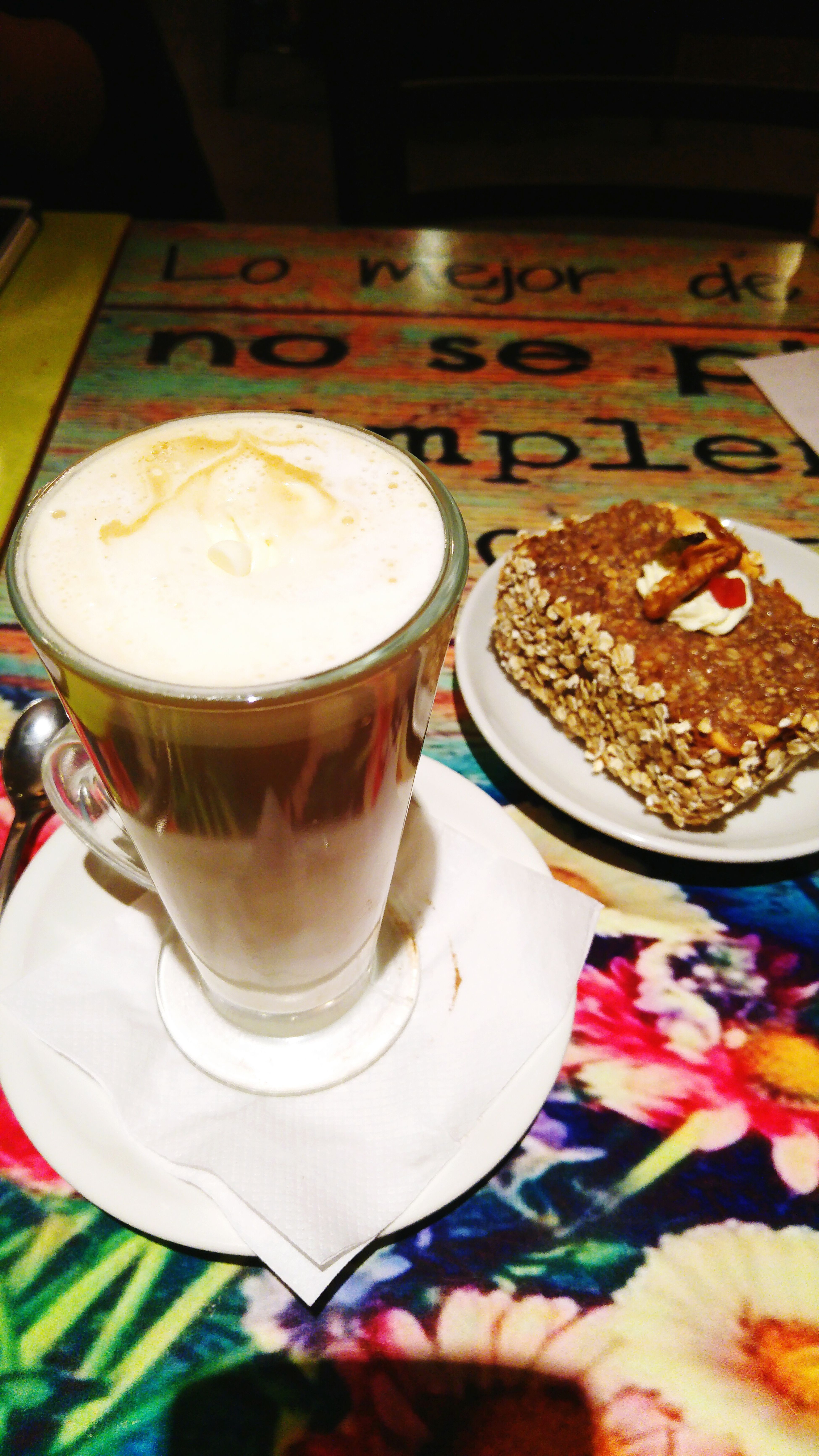/Late/ Coffee Time Coffeelatte Cake Coffee Break Sweet Lattechocolate Latte LGG4