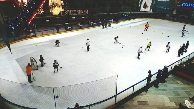 Watching Hockey Hockey Great Game Bucharest Ice Hockey