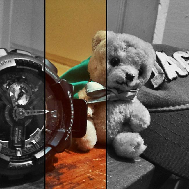 Teddy.... Watchesofinstagram Watchoftheday Gshockwatch Adidas Caps Toys Nostalgia Childhood Family F4F Bangalore Diwali Wearethebest