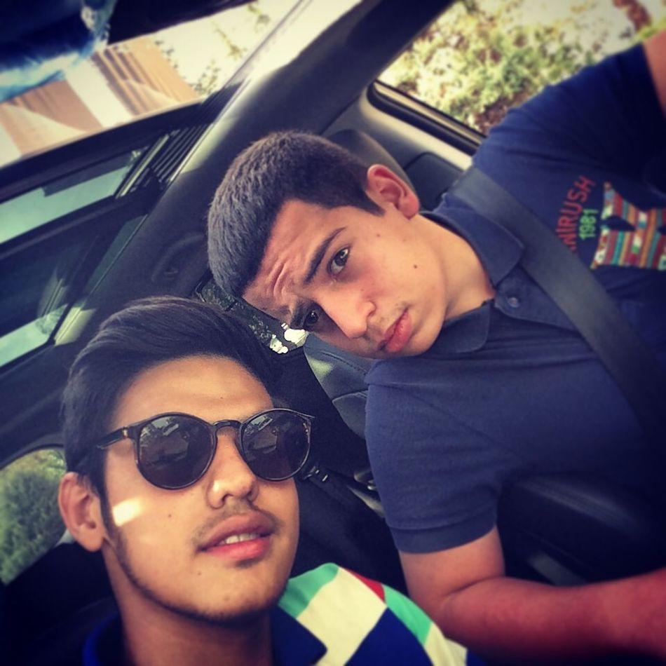 Me and saleh