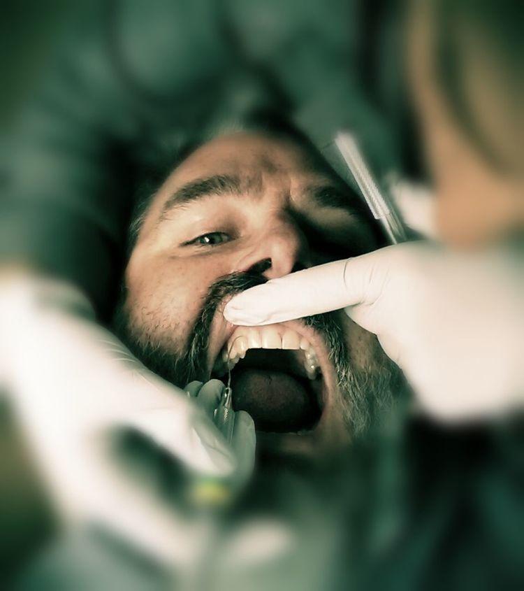 Selfie Dentist Dental Exam Dental Cleaning Bang On Target The Moment - 2015 EyeEm Awards The Amazing Human Body