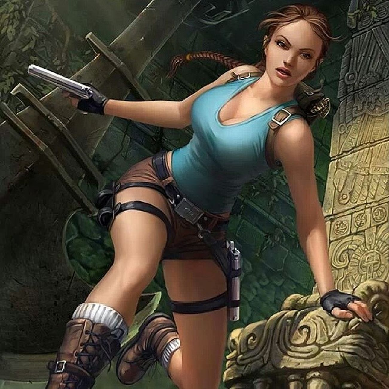 VideoGameLover Tombraider Awesomeness LaraCraft