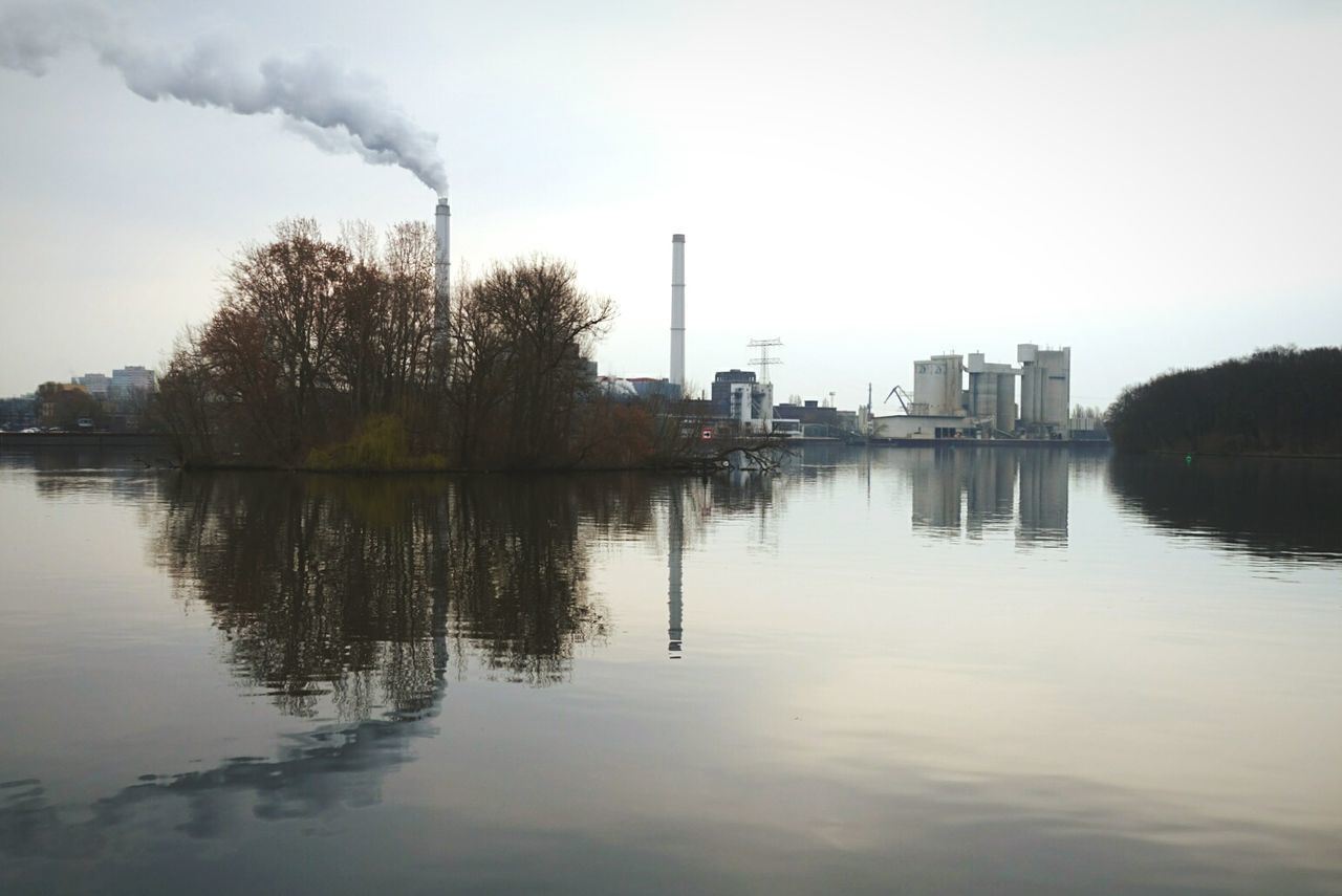 Industrial poetry Open Edit Melancholic Landscapes Water Reflections Symmetrical Urban Landscape in Friedrichshain Crystal Clear