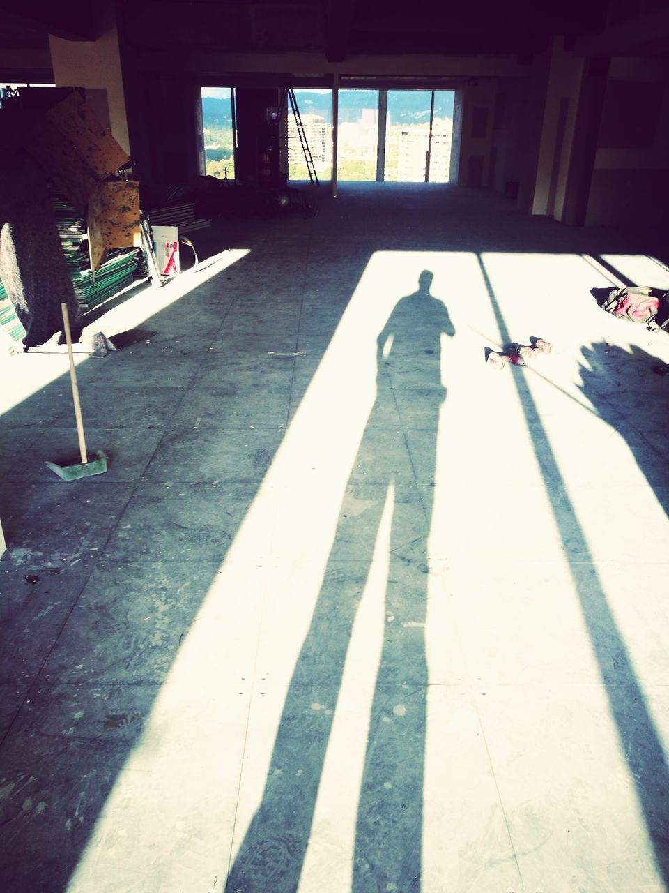 real people, day, full length, men, shadow, lifestyles, one person, indoors, people