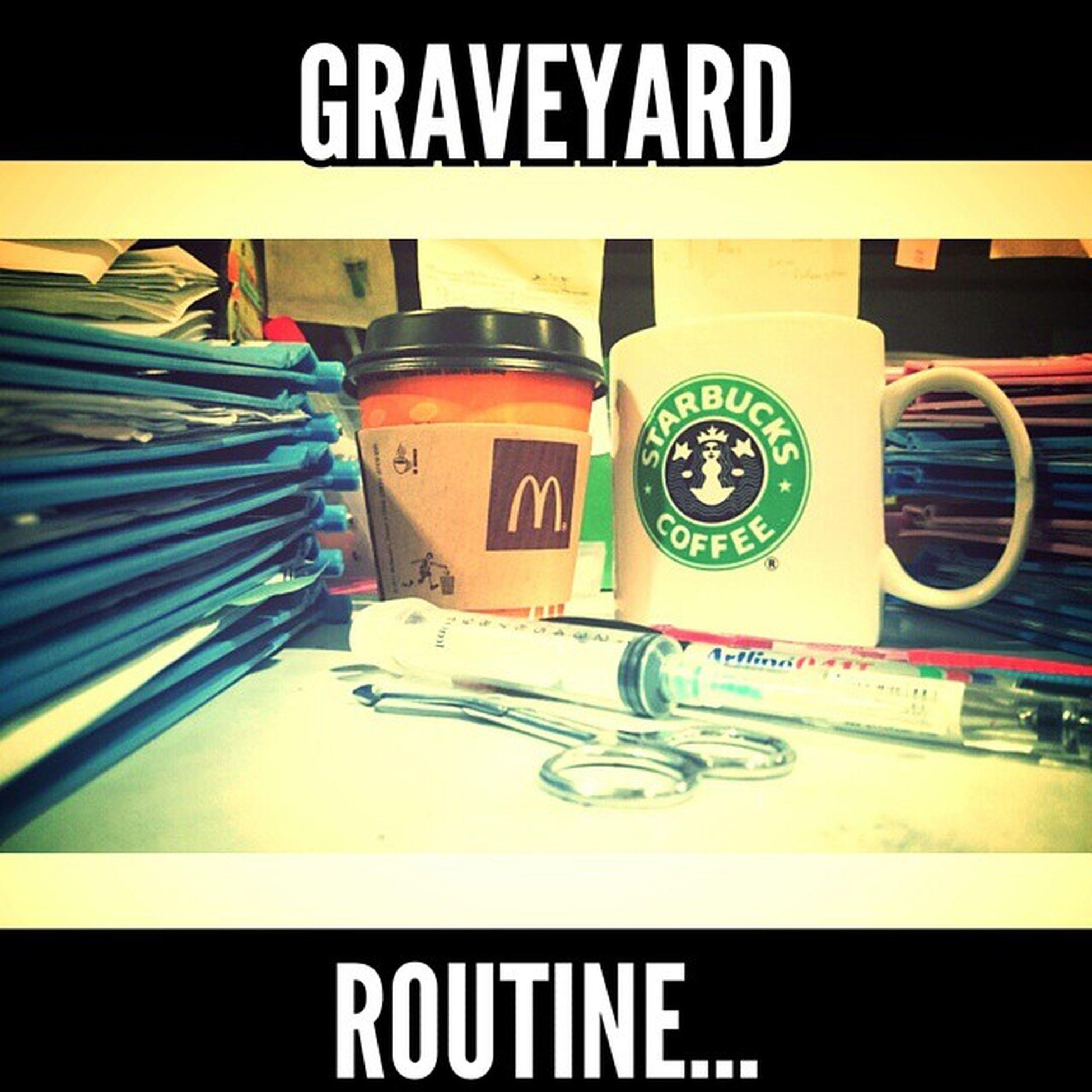 Graveyard Routine. Aviary NOD Graveyardmania Coffeebreaky Alert