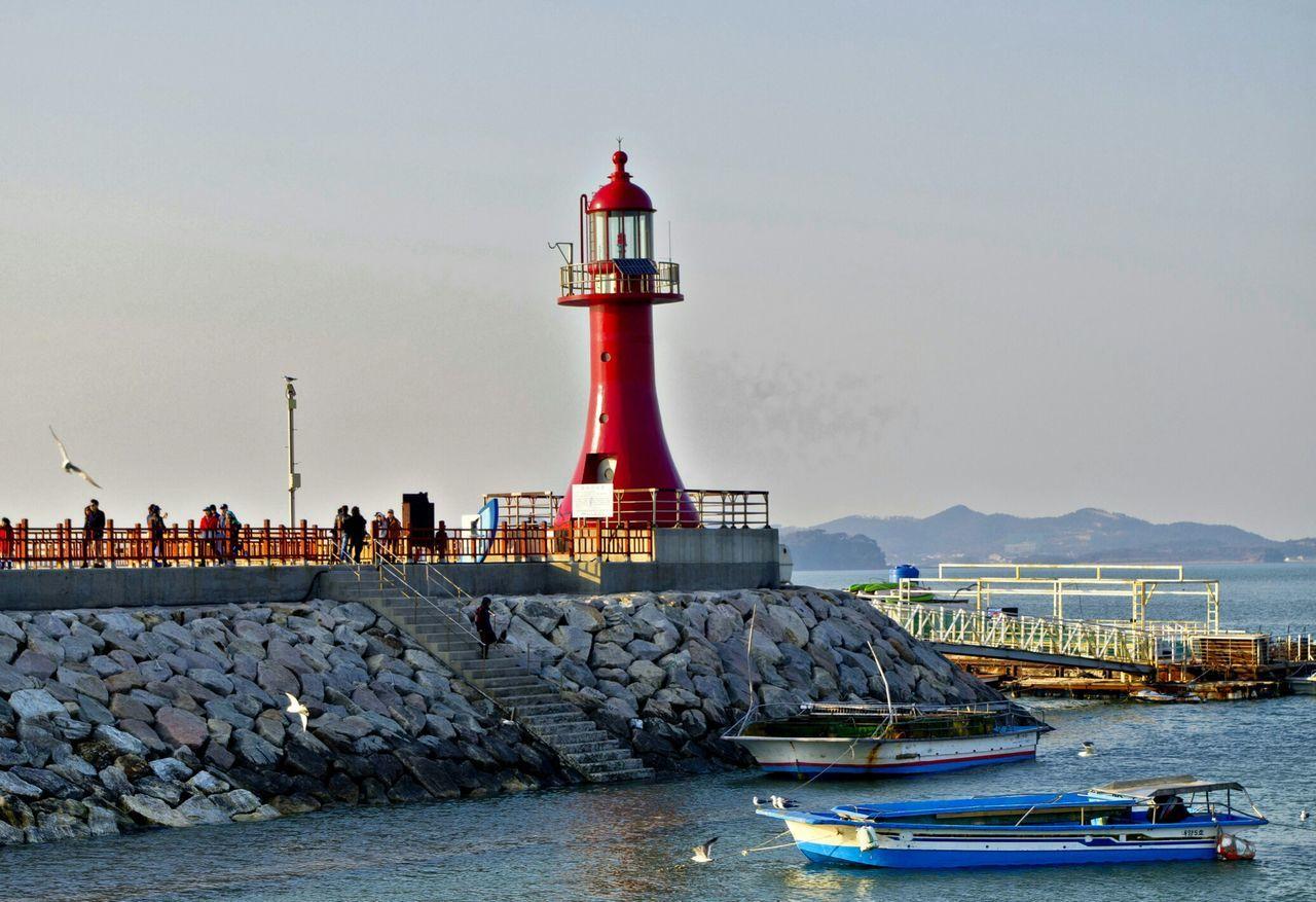 Beautiful stock photos of lighthouse, , Bird, Boat, Building Exterior