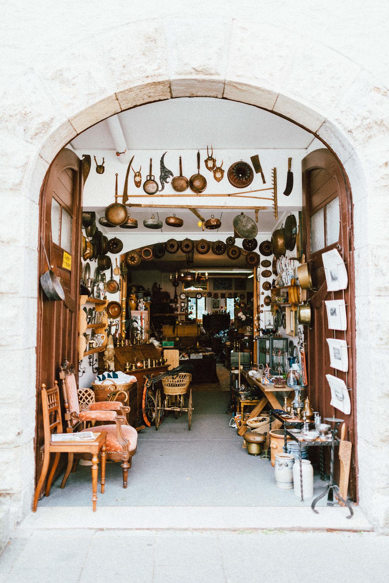 Tiny Vintage Shop in Rothenburg ob der Tauber. Architecture Day Entrance Heritage History Indoors  No People Shop Travel Travel Destinations Vintage