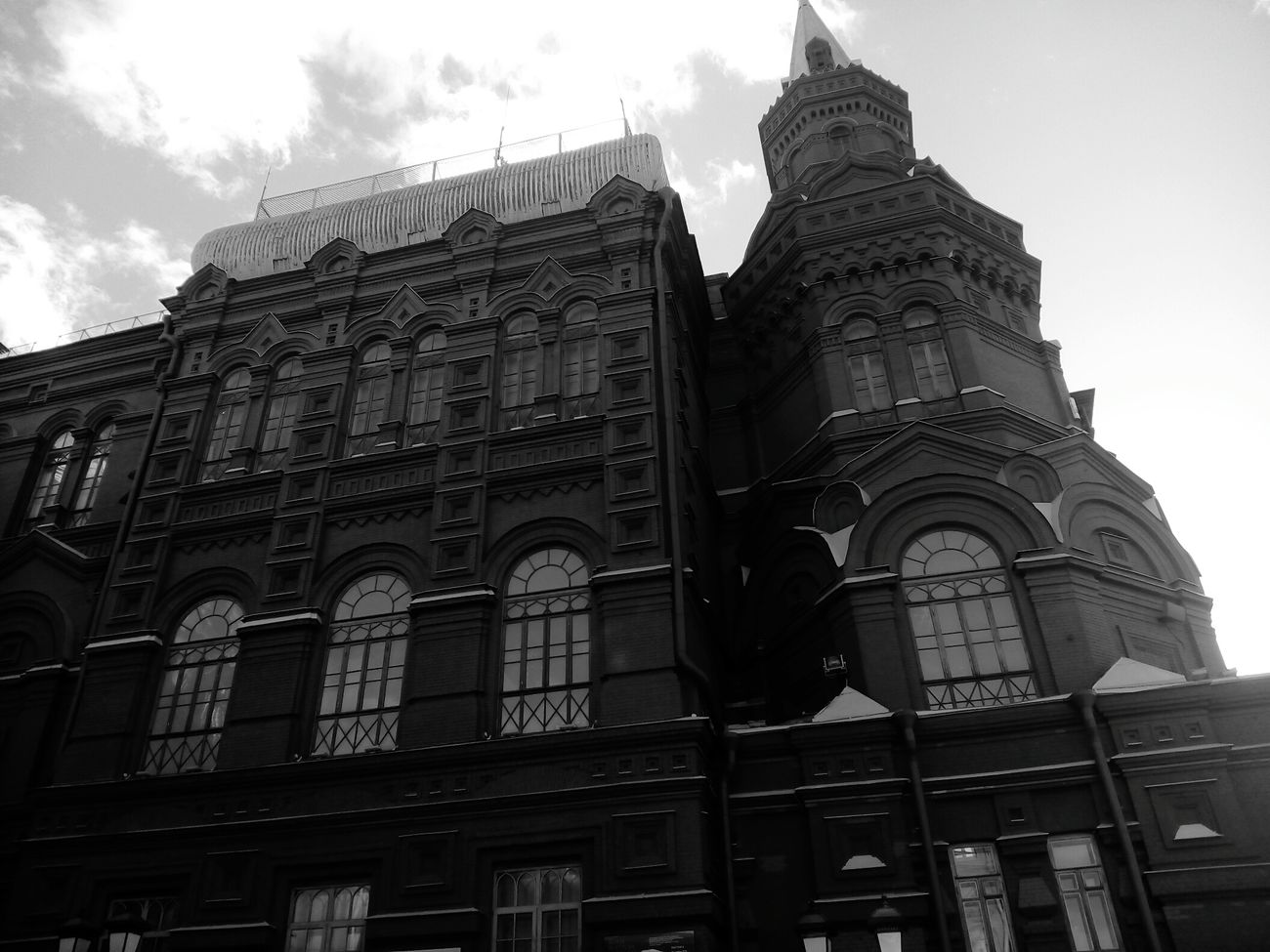 Architecture Sky Built Structure Red Low Angle View Building Exterior History No People Cloud - Sky Travel Destinations Outdoors Day City Cultures Moscow