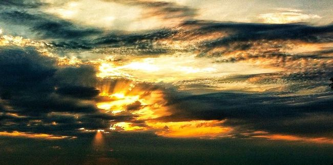 Sunset Nature Clouds And Sky Eye4photography