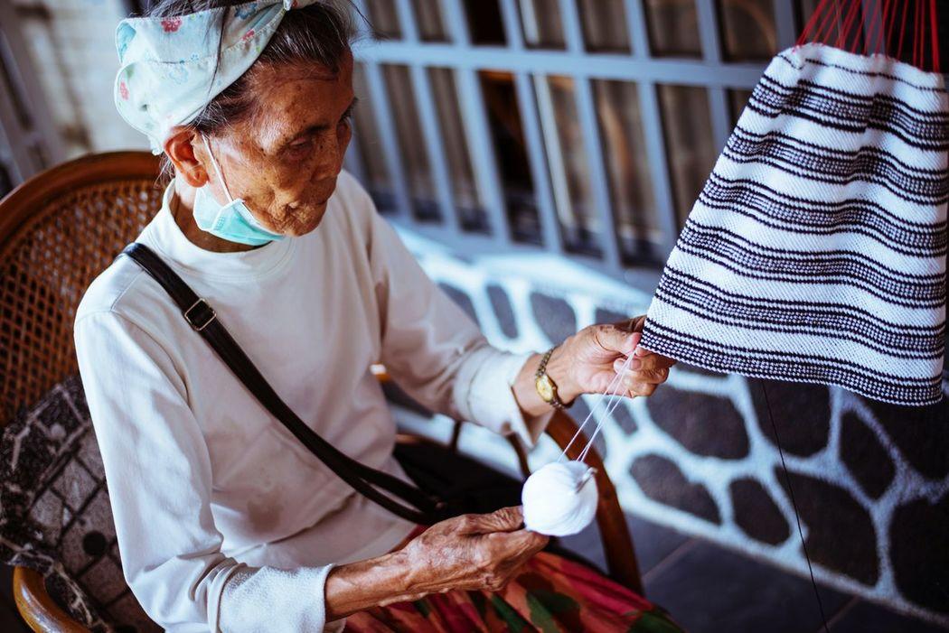 Grandmother Taiwan 排灣族 臺灣 Kindly 我的慈祥奶奶