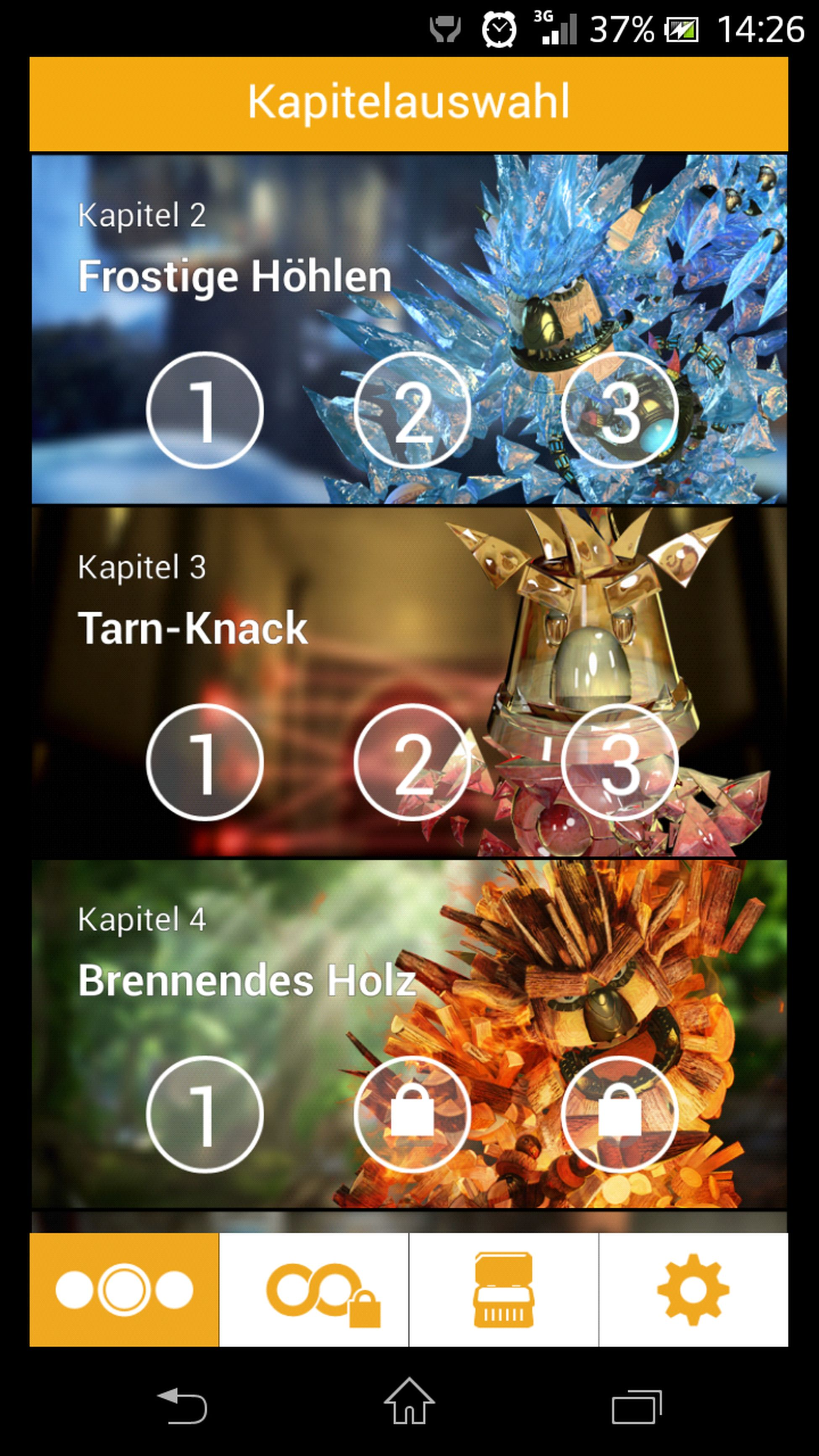 Screenshot Handy Game Knack PS4