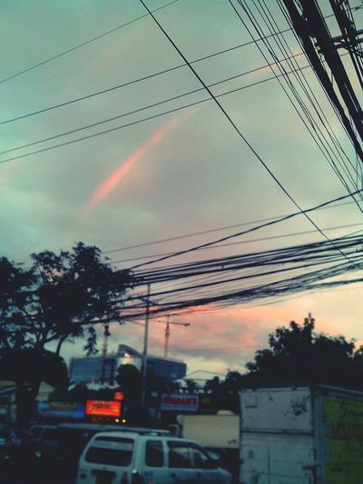 There's a rainbow always after the rain. :)