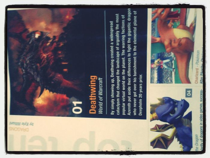 So I was reading gameinformers when top dragon article but I have to say sorry charizard is not.a dragon type