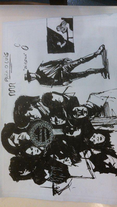 Sketch_dailies Sketch Ink Painting