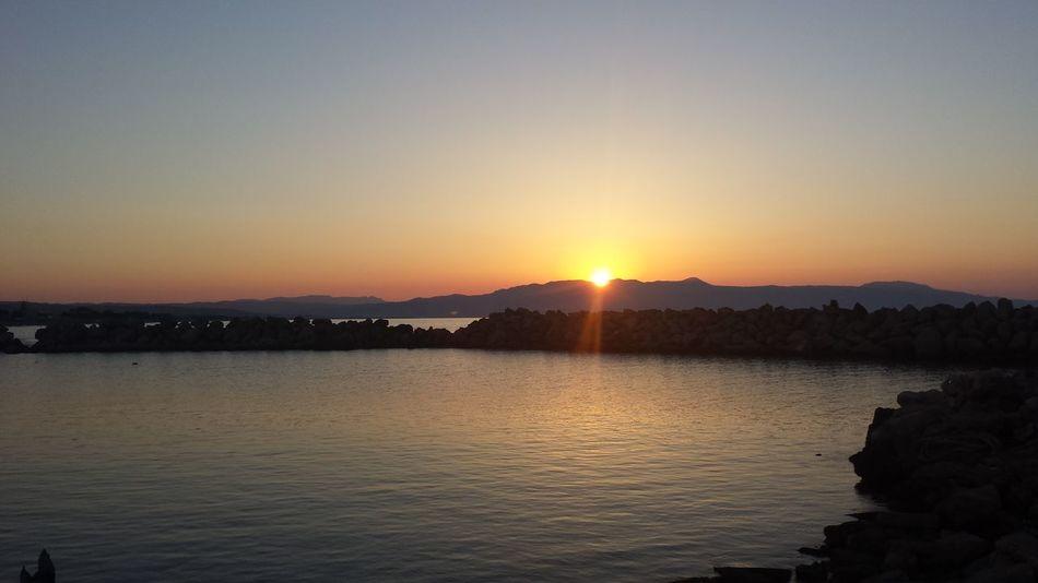 Sunset Platanias Kreta Eyeem Collection
