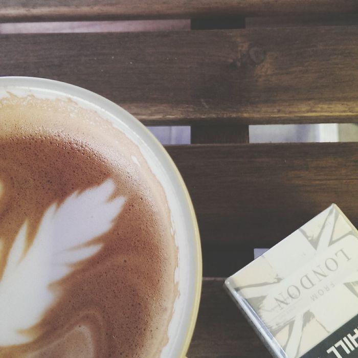 Coffee Latte Latte &Dunhill 就是有墨爾本的味道。 Chillax