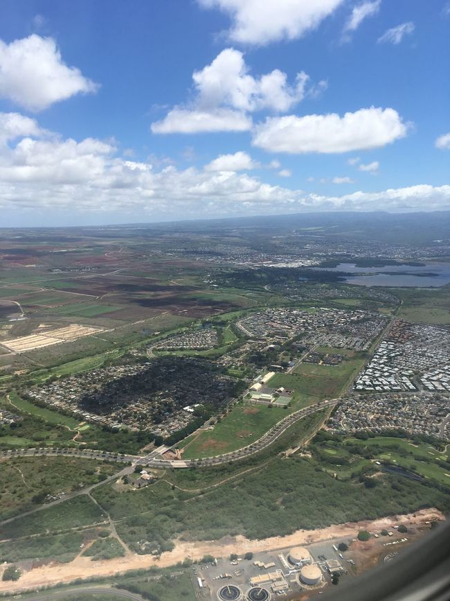 Check This Out Hello World Taking Photos In The Air Airplane Shot Airplaneview Sky_collection Sky High Hawaii Island Island Life Oahu Enjoying Life My View Air Photography