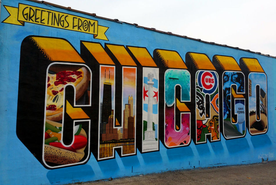 Greetings from Chicago graffiti sign Art Art Is Everywhere Arts Culture And Entertainment ArtWork Background Backgrounds Chicago City City Street Clear Sky Close-up Day Graffiti Graffiti Art Graffiti Wall Man Made Object Multi Colored No People Outdoors Sign Signboard Signs Sky Streetphotography Text