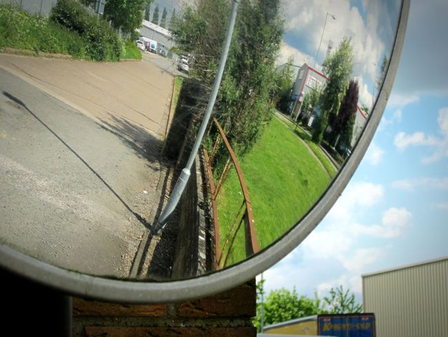 ◽🍥 Northampton Industrial🍥◽ Mirror Fisheye Reflection_collection Mirror Picture Mirror Reflection Circular Urban_collection Urban Landscape Old Town Light And Shadow Abstract From My Point Of View Showcase May Shiny Things Shiny Things Make The World Better Shiny Lindsay's Shiny Things