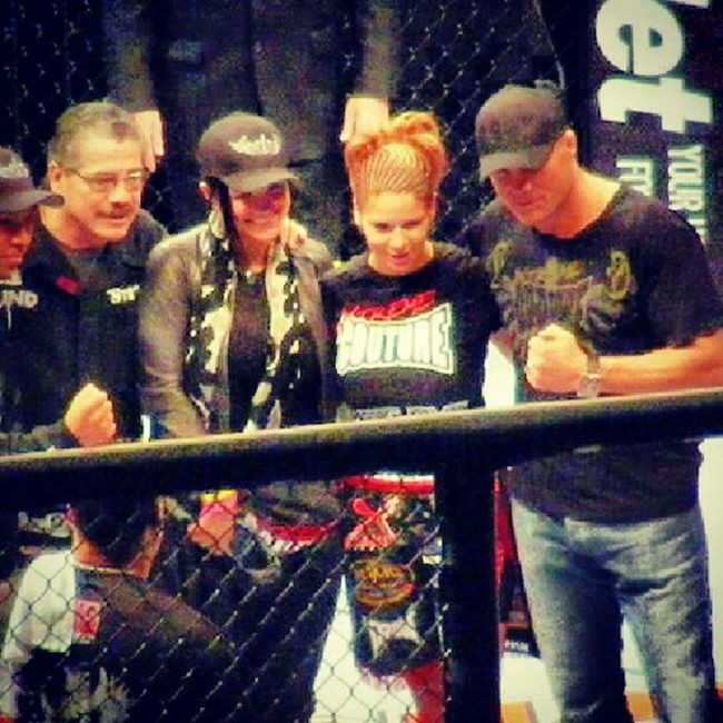 "Strikeforce, Kim Couture, Randy Couture, Gina Cerrano and ""Stitch"" Duran Strikeforce MMA Fighter OldPics"