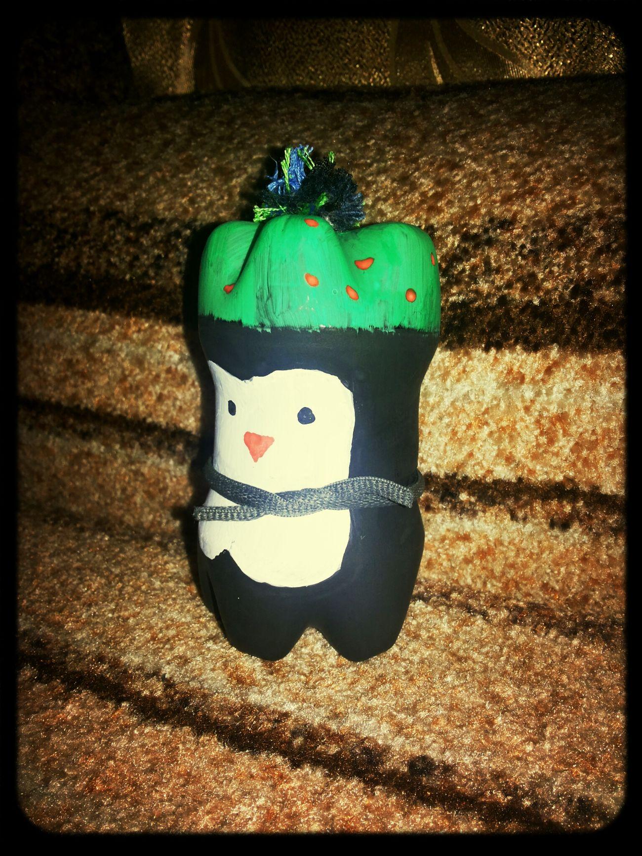 Подготовка к новому году, пингвин из 2 бутылок)) Relaxing Cheese! Hi! Cheremkhovo