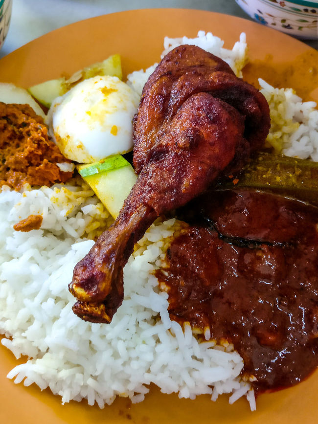 Nasi Ganja Ipoh Ipohfood Ipoh,Malaysia Food And Drink Food Indoors  Plate Close-up Freshness Ready-to-eat Indulgence Meal Unhealthy Eating Meat Temptation Serving Size Lunch Cooked Garnish Appetizer Savory Food Dinner Oneplus3