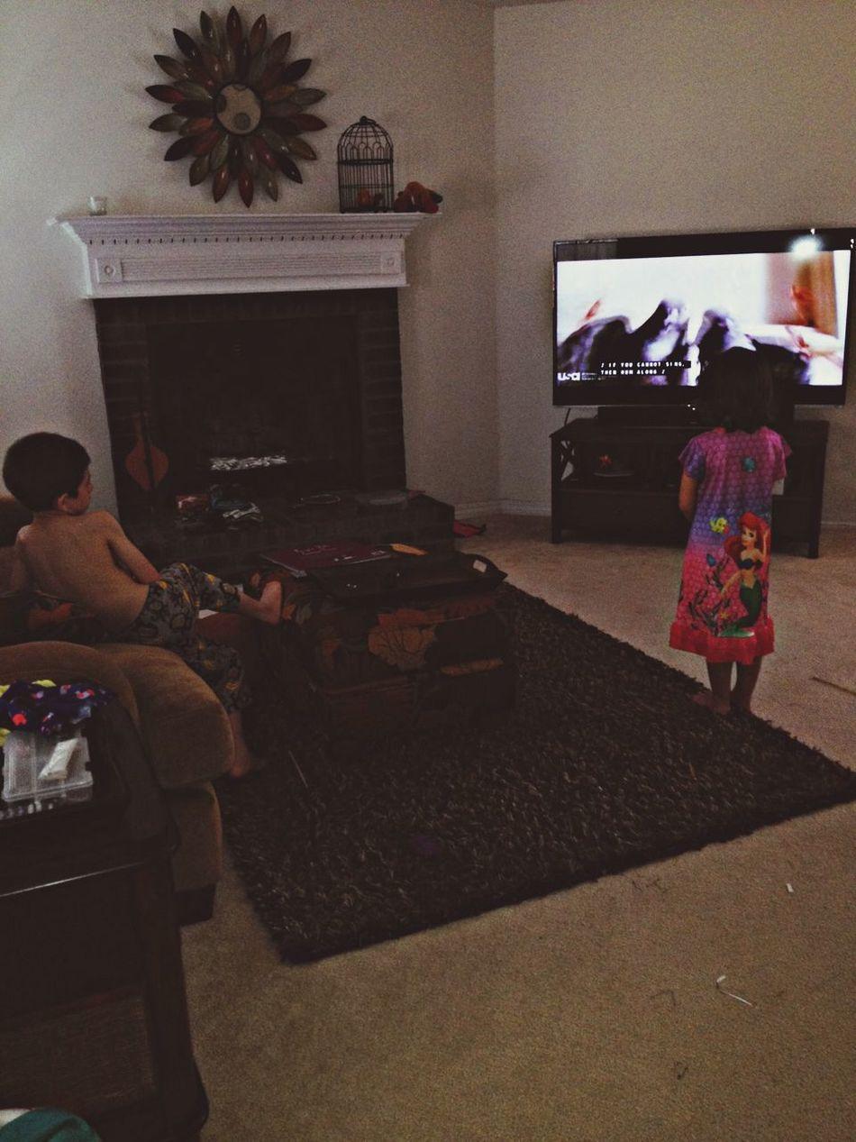 Earlymornings and disney movies❤️ Enjoying Life