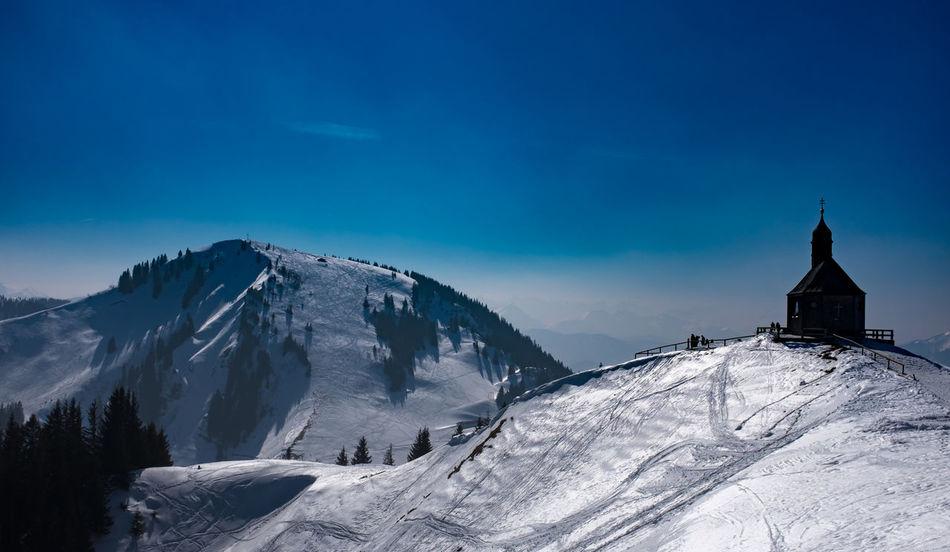 Wallberggipfel Wallberg Alps Winter
