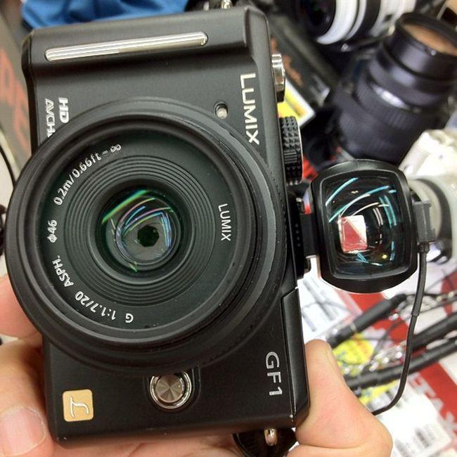 GF-1にPENTAXの光学式つけてみた!雰囲気あるけど、画角が、40mm と47mm換算であわなかった!残念!