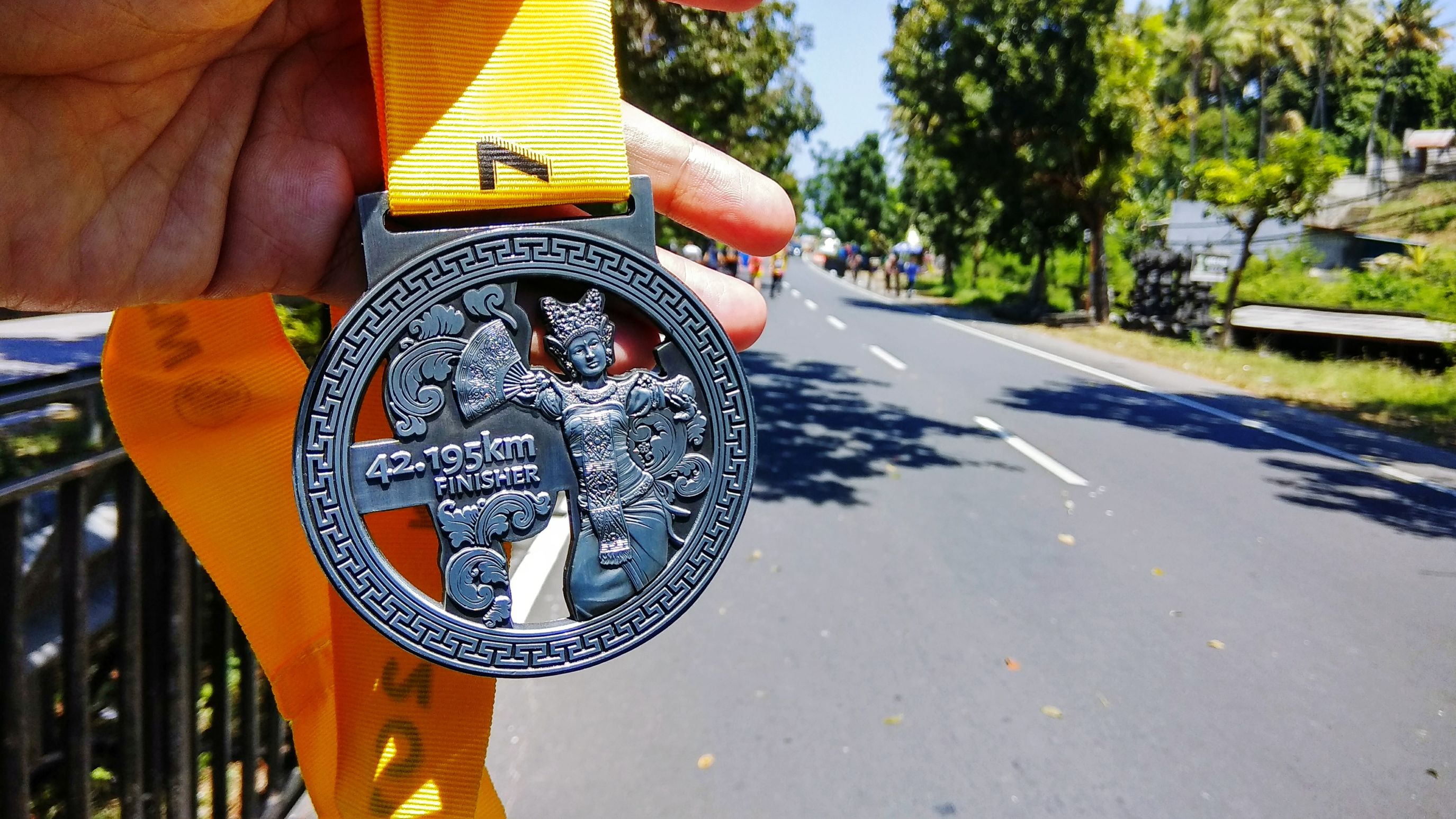 """ 42K :) _ Bali Marathon 2017 Medallion Summer Run Run Run Medal Runners View Bali Marathon Finisher Medal Marathoner Human Hand Close-up Maybank Bali Marathon Marathon Runner Running Race Road Runners Lomba Lari Finishers No People 42k Full Marathon Leisure Activity Bali Dancer"
