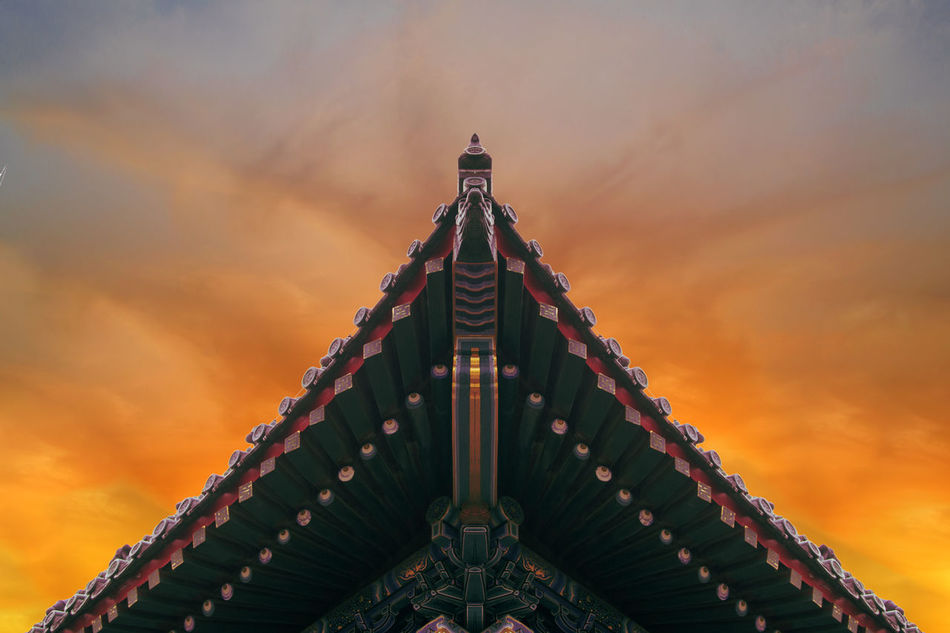 Beautiful stock photos of china, Architecture, Building Exterior, Built Structure, Cloud - Sky