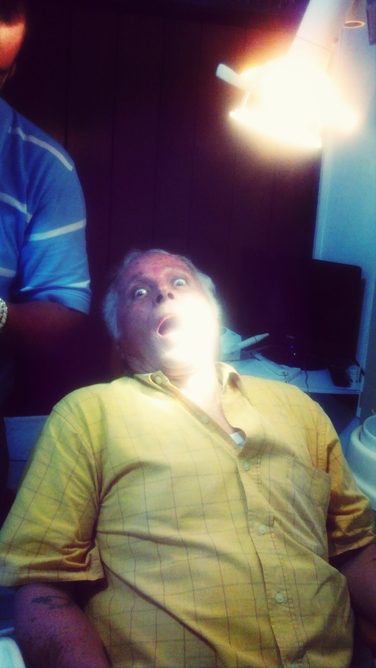 Ortodontist Grandpa Ni Pedo Dentista At The Dentist #crazyface