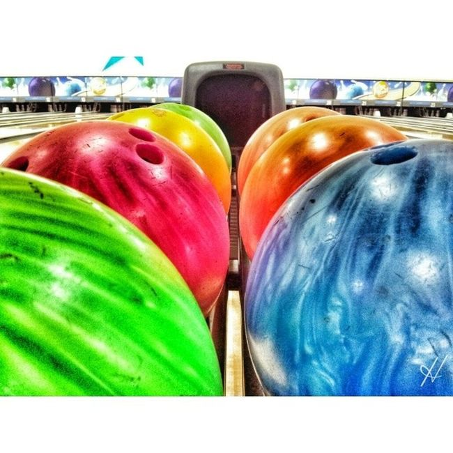 Went bowling with coursemates