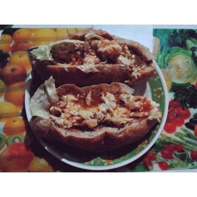Panes con pollo para el alma 😍😍 Cena Hambrienta Desnutrida Ricueso Forevergorda Amorencomida