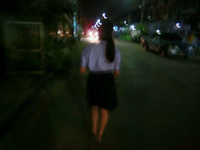 Street Road Walking Night First Eyeem Photo