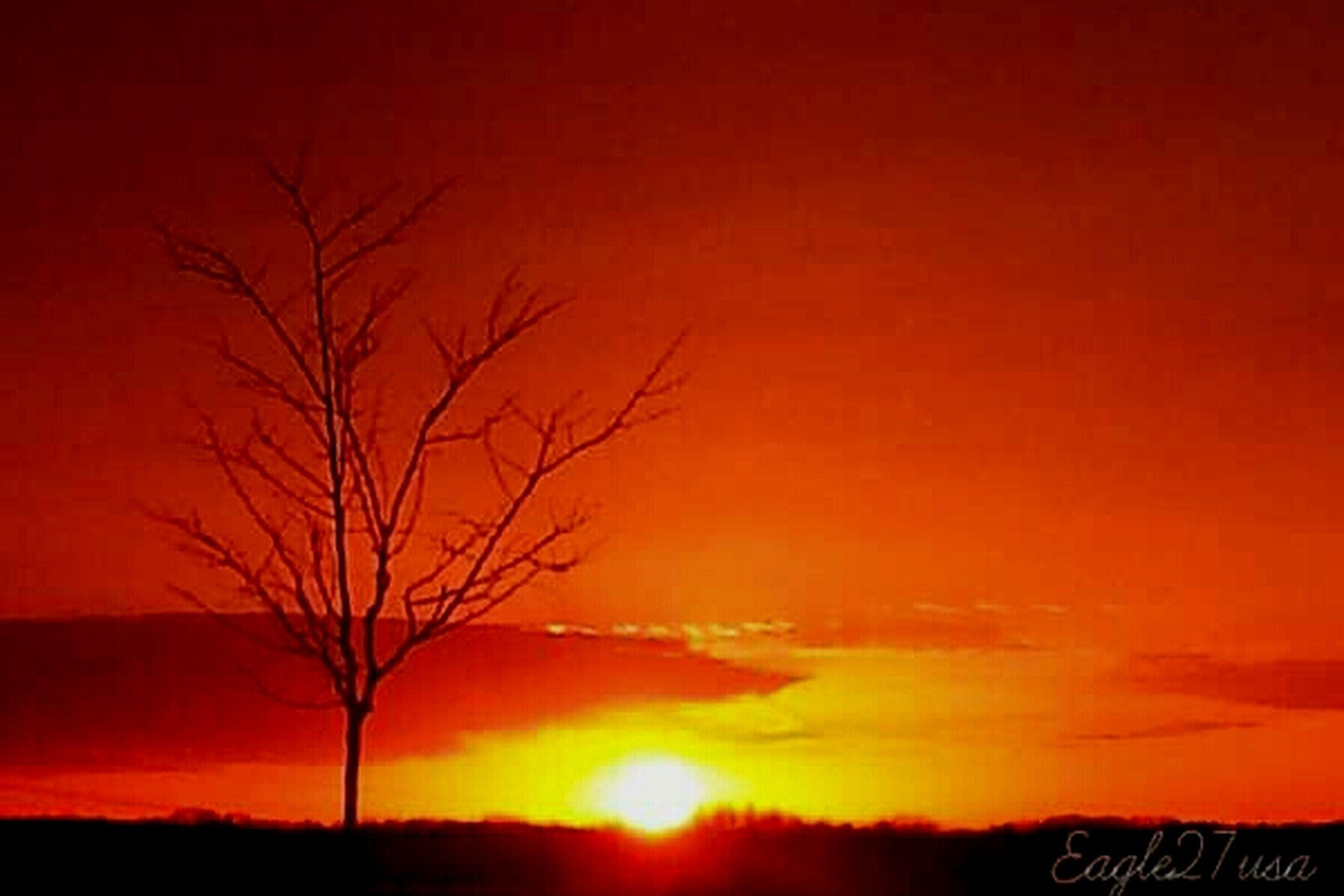 Sunset Nature Sky Ohio