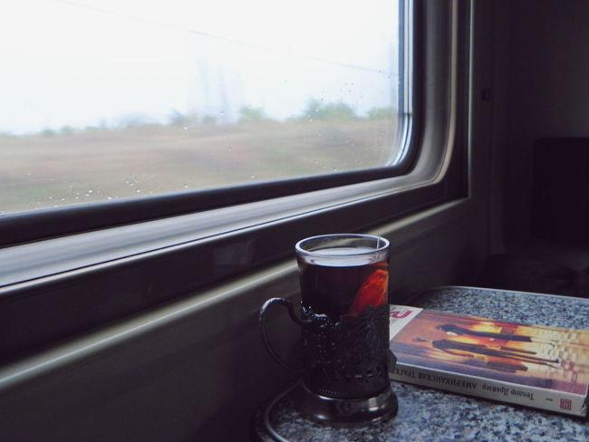Traveling Autumn Colors Autumn Landscape Russia Evening Long Exposure Roads Life Railway Railstation Railroad Trees Train Exposure Road Tea Book Reading Rzd Mellow Faded Traveler Jorney Rain